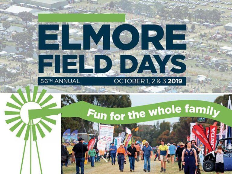 Elmore Field Days | 1 – 3 Oct 2019