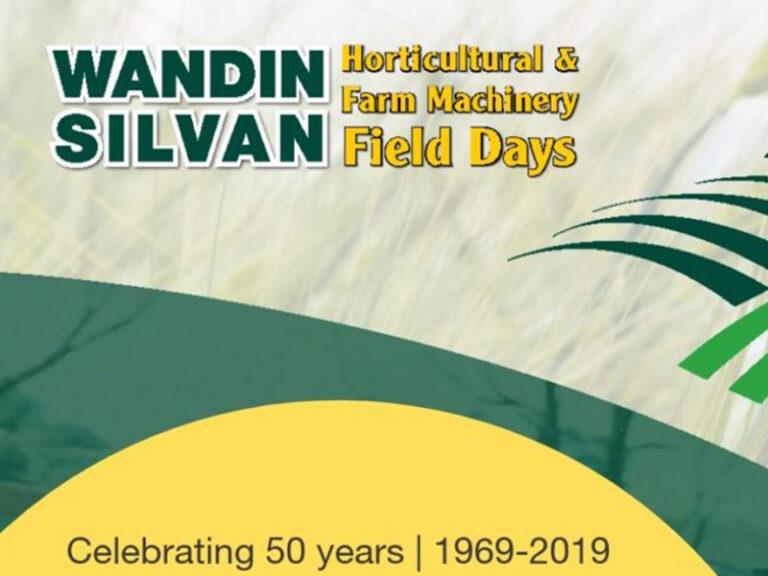 Wandin Silvan Field Days | 11 – 12 Oct 2019